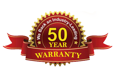 Direct Roofing 50 years Warranty