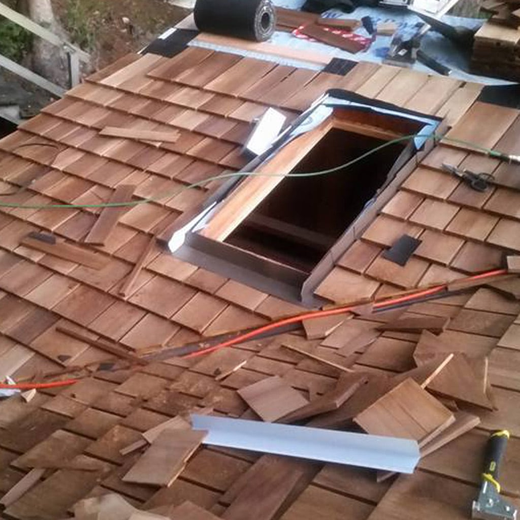 Vancouver Cedar Roof Replacement