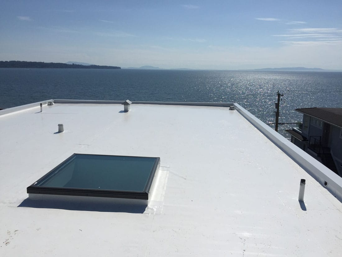 Duro Last Roofing White Rocks