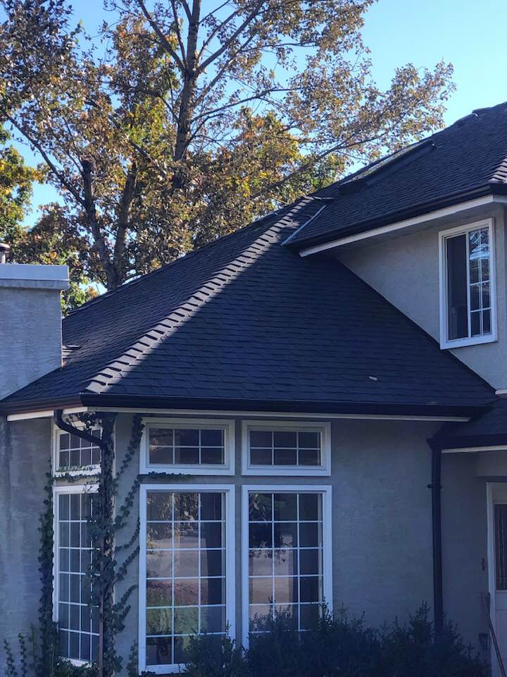 Certainteed Black shingles