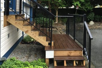 New Composition Decking with New Railing